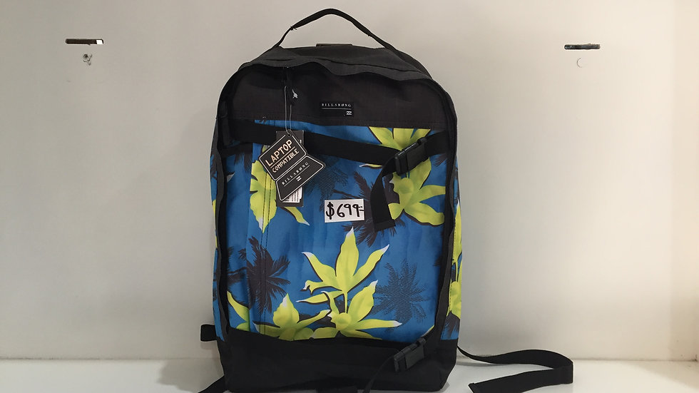 Mochila Billabong, Skate, Laptop compatible, 1001% poliester.