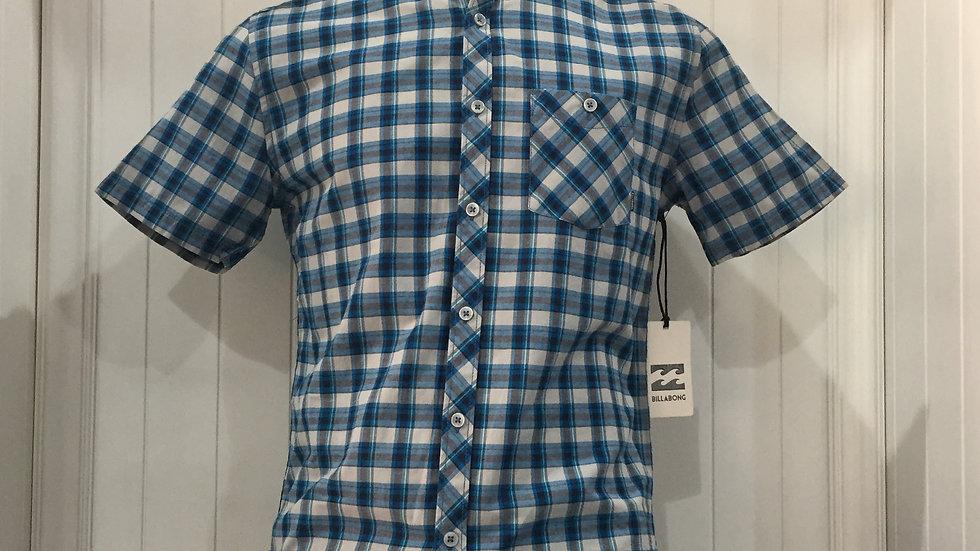 Camisa Billabong Ashe55% algodón, 45% poliester.