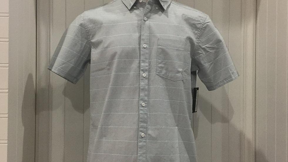 Hurley Keanu Stripe Top SS, Stretch, 98% algodón, 2% Elastano.