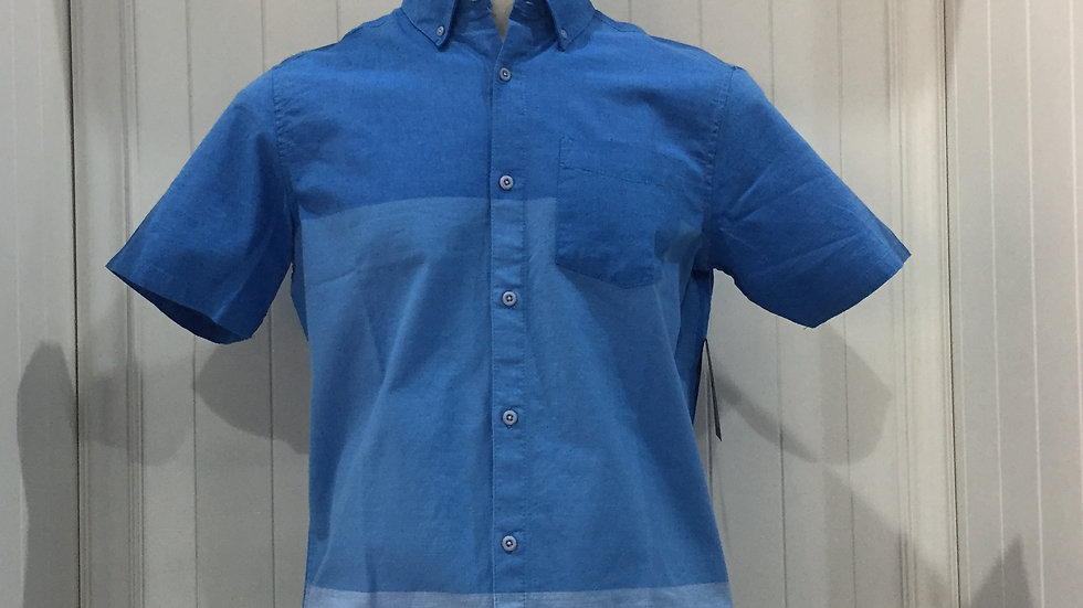 Camisa Hurley ENG OAO Woven SS, Stretch 100% algodón.