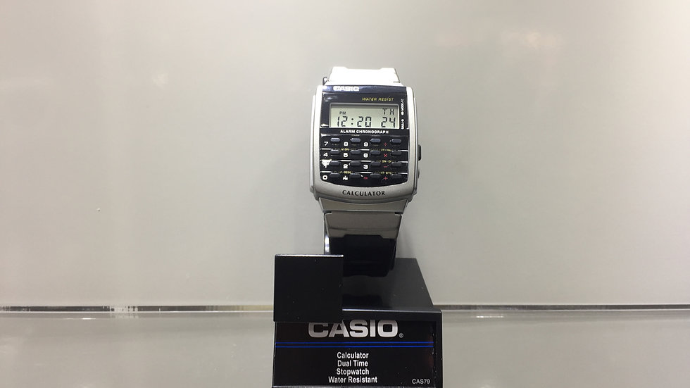 Casio Calculator Dual Time Stopwach Water Resistant.
