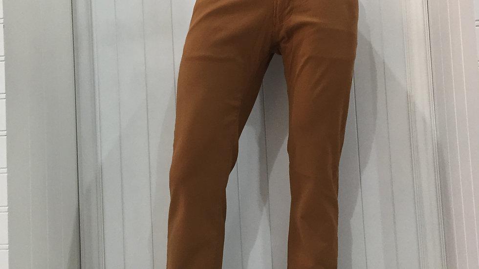 Pantalón Furor Justin Slim Bronce, Ajustable,