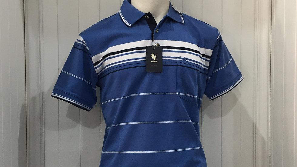 Playera Knights Sportswear, polo, 60% algodón, 40% poliester.