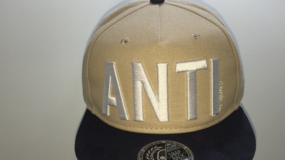 Gorra Antifashion unitalla, 100% Algodón.