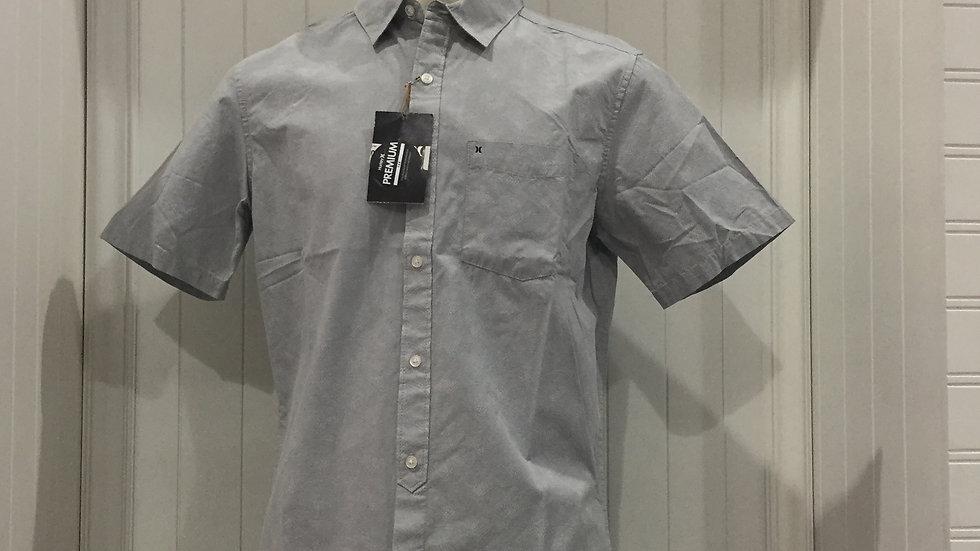 Camisa Hurley OAO 2.0 Top SS, Stretch,100% algodón.