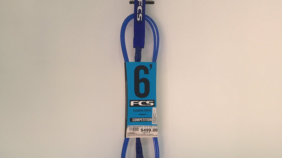 Leash 6´´ para Surfboard FCS Classic Series Competition 0-4ft
