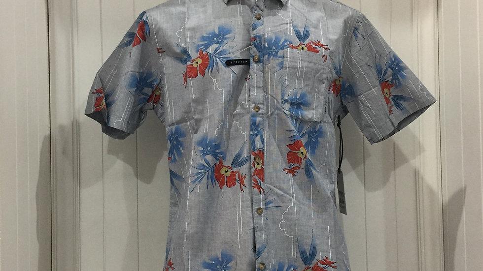 Camisa Billabong Vacay Stretch, 100% algodón.