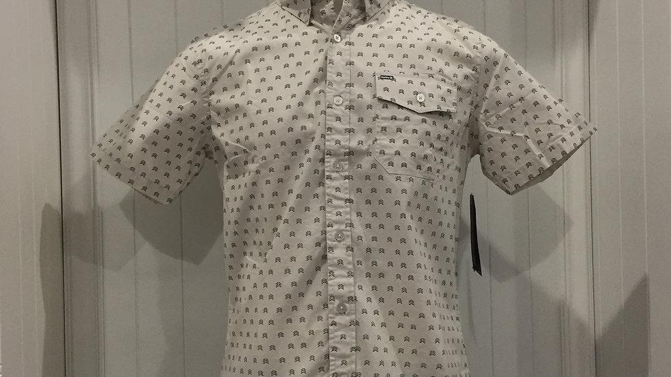 Camisa Hurley BrooksTop SS, Stretch, 98% algodón, 2% Elastano.