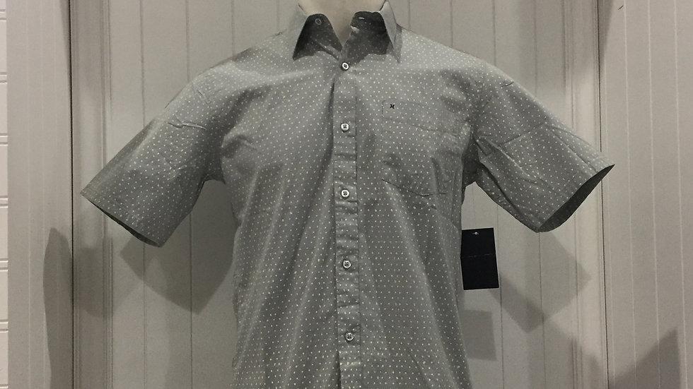 Camisa Hurley Jones DotTop SS, Stretch, 98% algodón, 2% Elastano.
