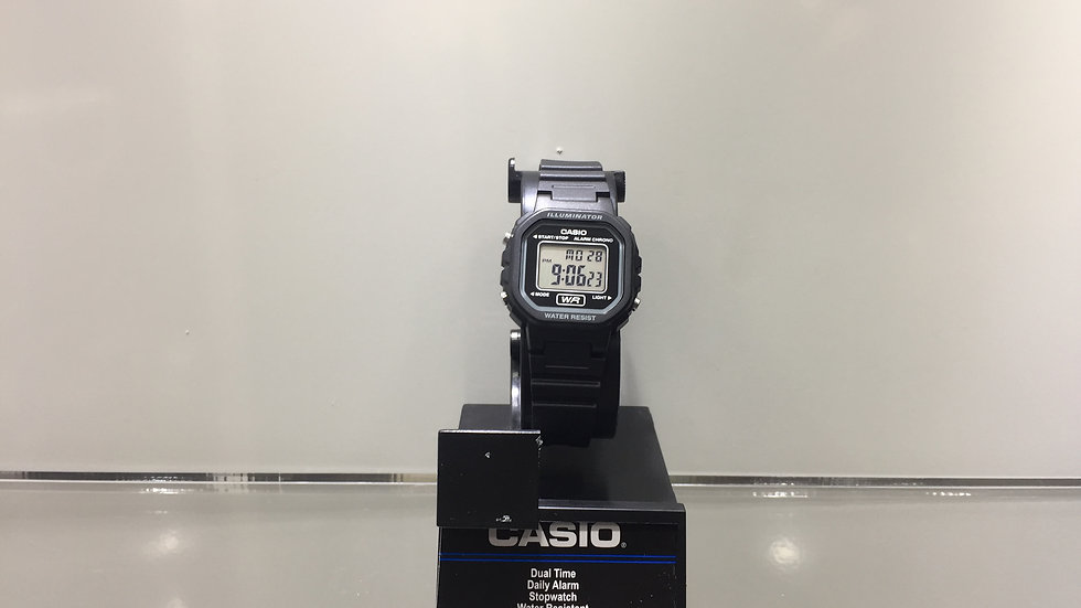 Casio Dual Time Daily Alarm Stopwach Water Resistant.