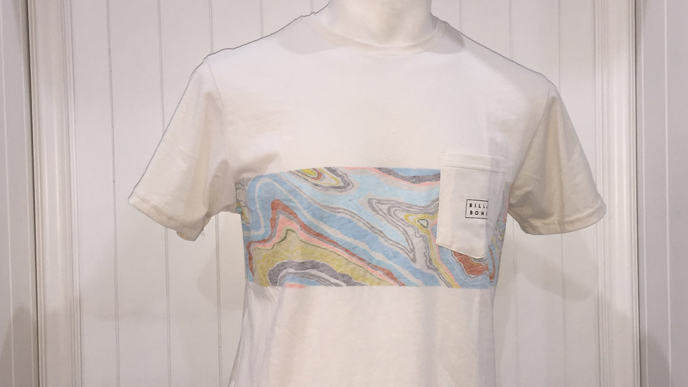 Playera Billabong Die Cut Stripe,