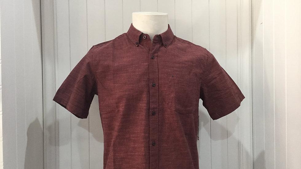 Camisa Hurley OAO 2.0 TopClassic Fit SS 100% Algodón.