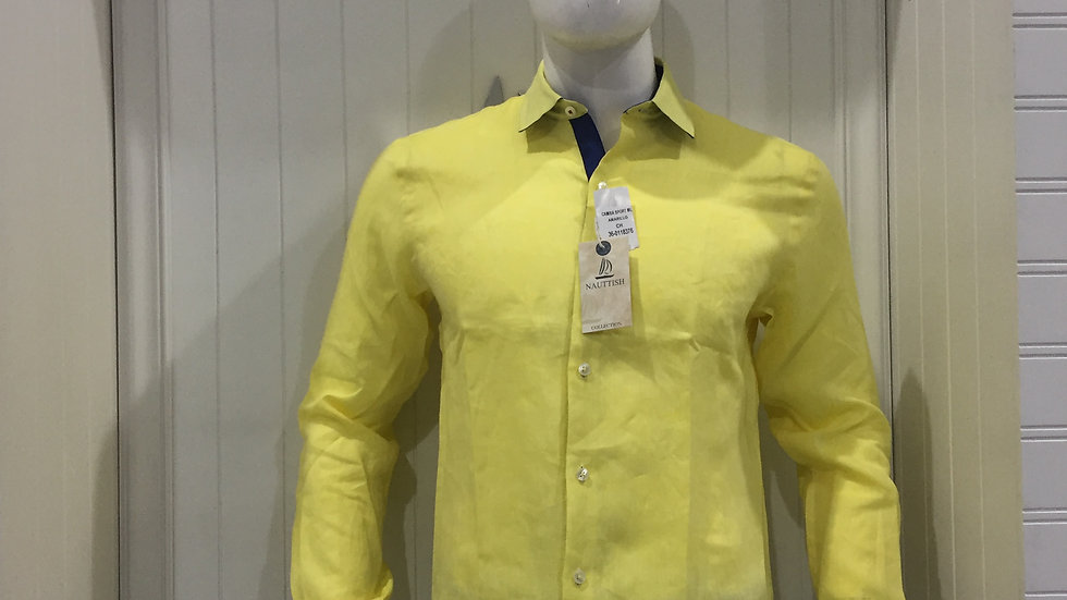 Camisa Nauttish 100% Lino