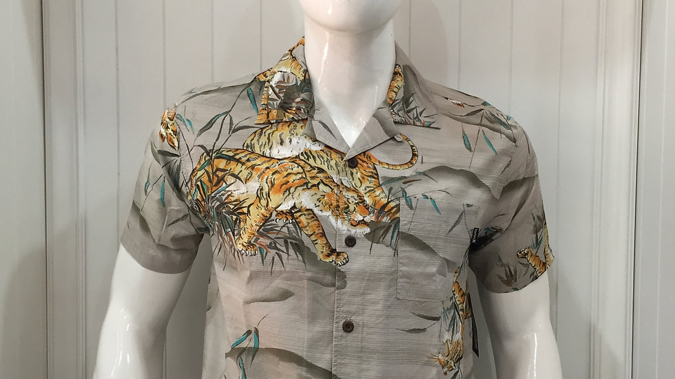 CAMISA HURLEY TIGER STYLE SS