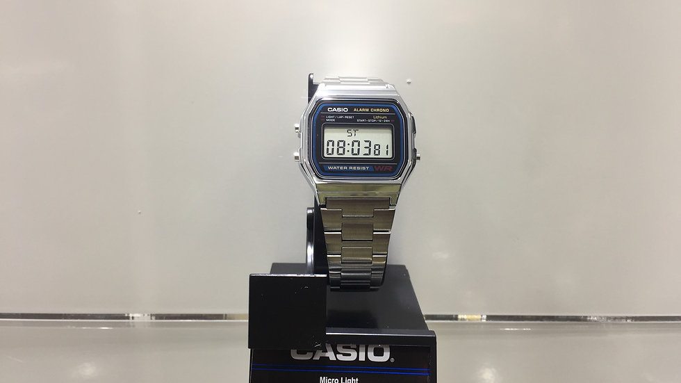 Casio Micro Light Stopwatch Daily Alarm Water Resistant