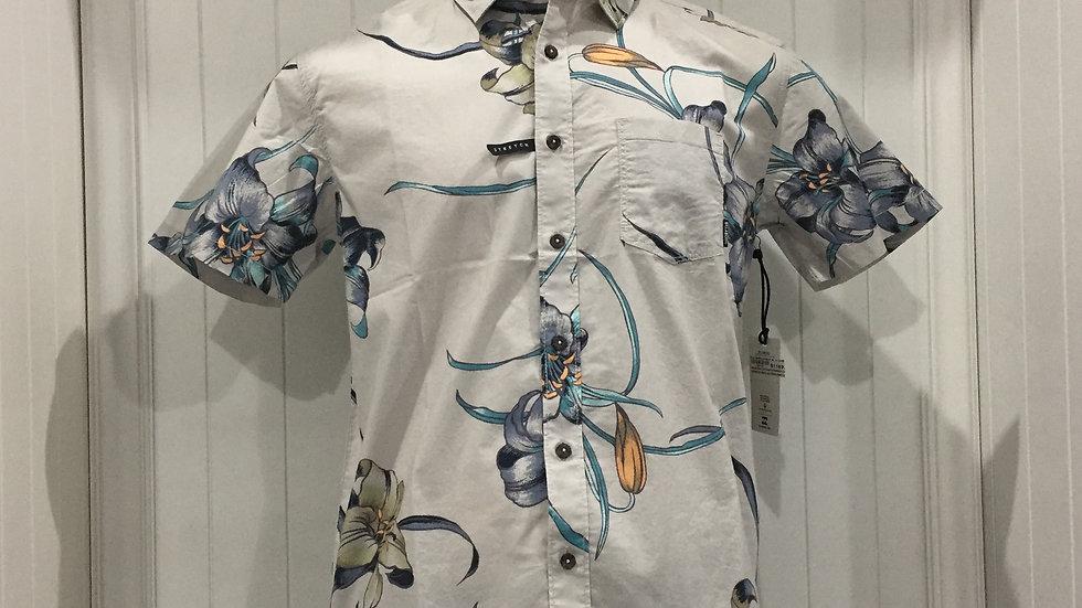 Camisa Billabong Sundays FlorStretch, 98% algodón, 2%