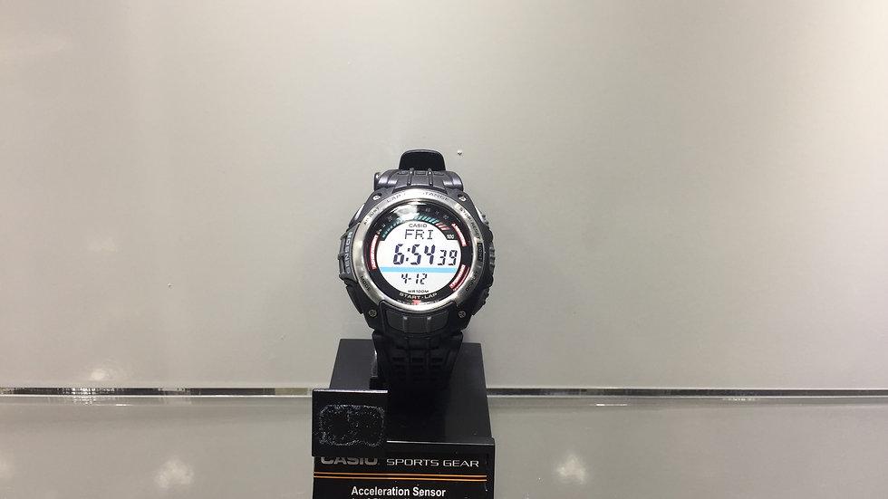 Casio Aceleration Sensor Lap & Distance Memory 100 Calories & Step Counter.