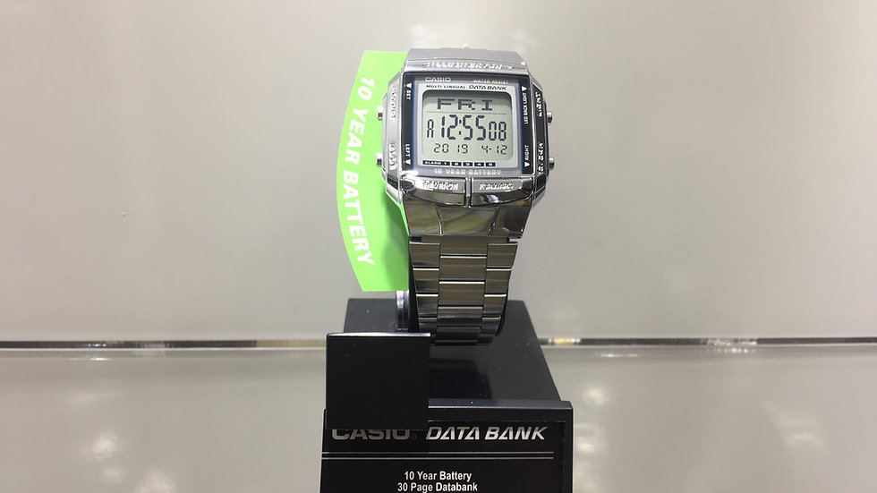 Casio, 10 Year, 30 page databank.
