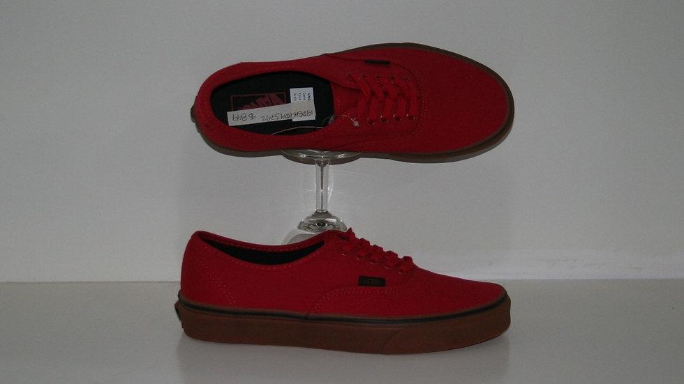 Tenis Vans Uni Authentic Red