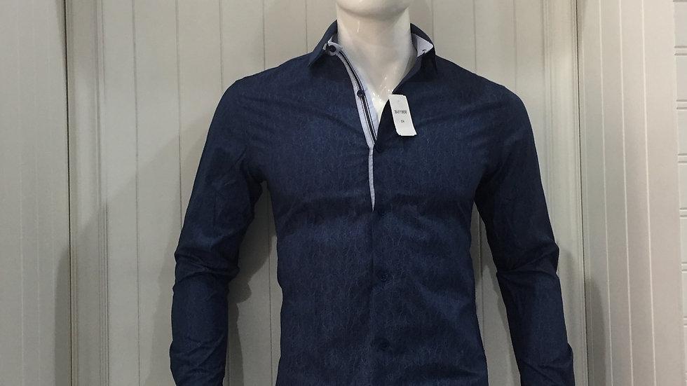 Camisa Nauttish 100% algodón , Entretela Holandesa 100% algodón.