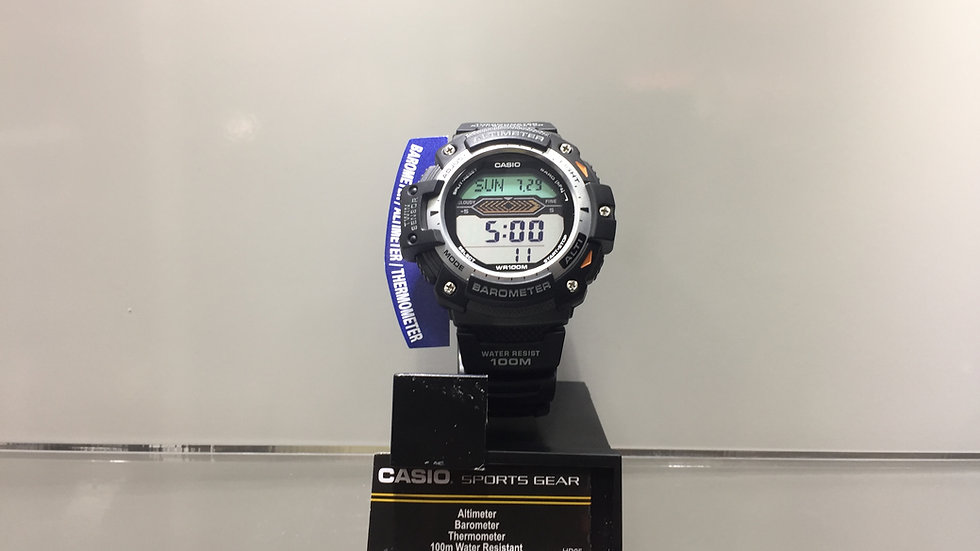 Casio Altimeter Barometer Thermometer 100m Water Resistant