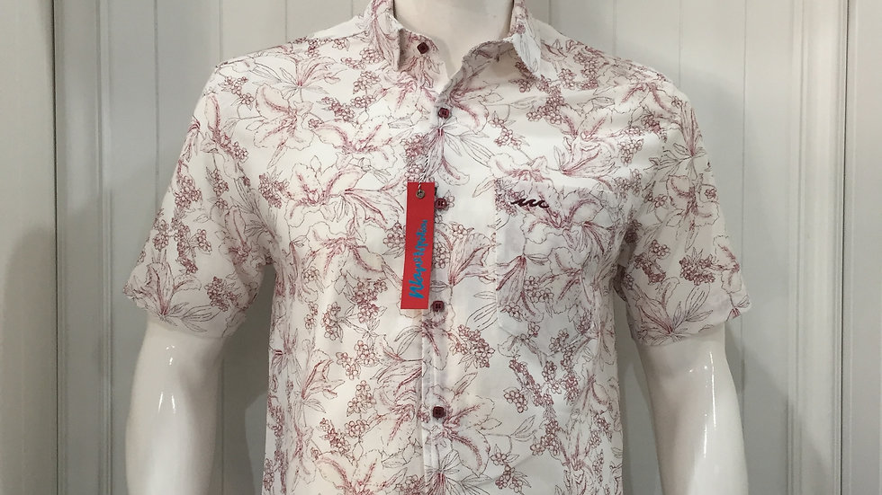 Camisa Wave Motion 100% poliester