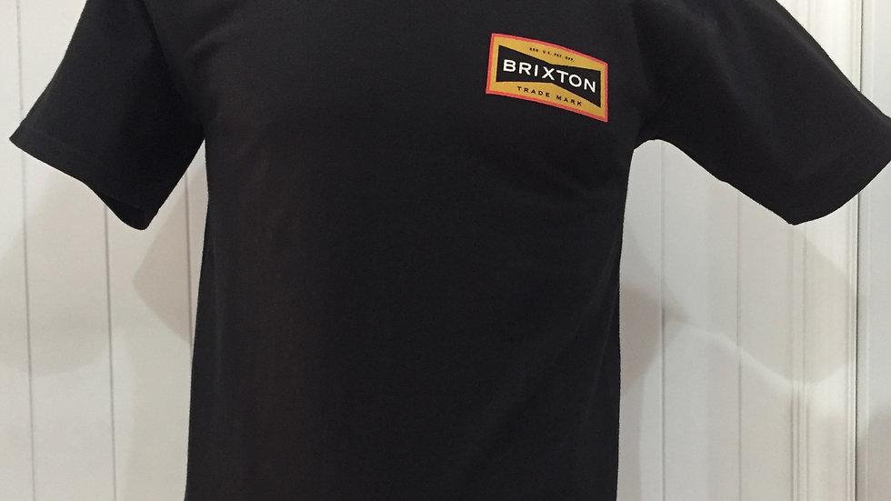 Playera Brixton FUEL, STANDART FIT 100%algodón