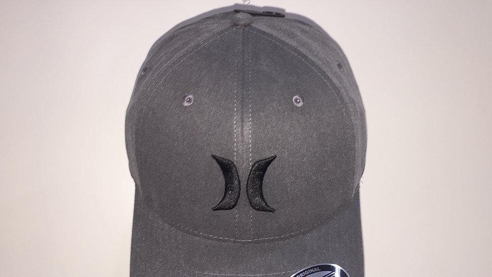 Gorra Hurley BLACK TEXTURES HAT, Flex Fit