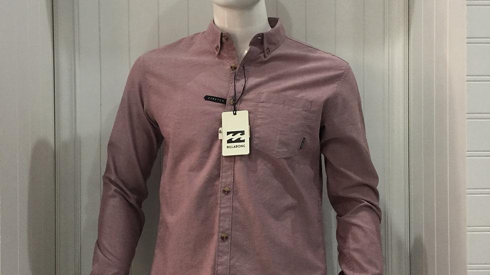 Camisa Billabong LS Shirt 60% algodón 40% Poliester.