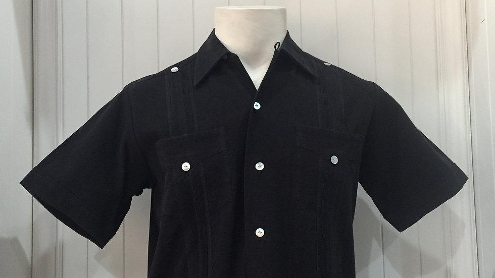 Camisa Gullabera de manta botones de concha nacar