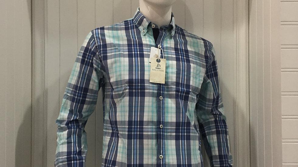 Camisa Nauttish 100% algodón, Entretela Holandesa.