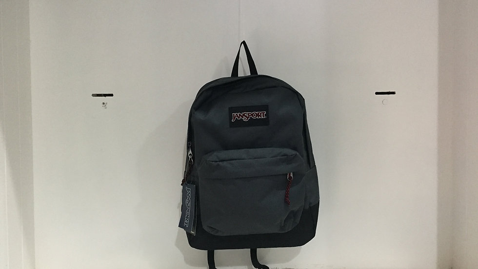 MOCHILA JANSPORT BLACK LEBEL SUPERBREAK