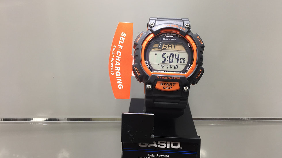 Casio Solar Pawered World Time (31TZ / 48 Cities) 5 Alarms 100m Water Resistant.