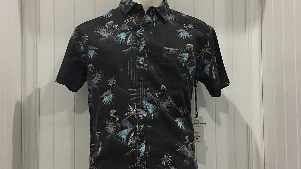 Camisa Billabong Sundays MiniStretch, 100% algodón.