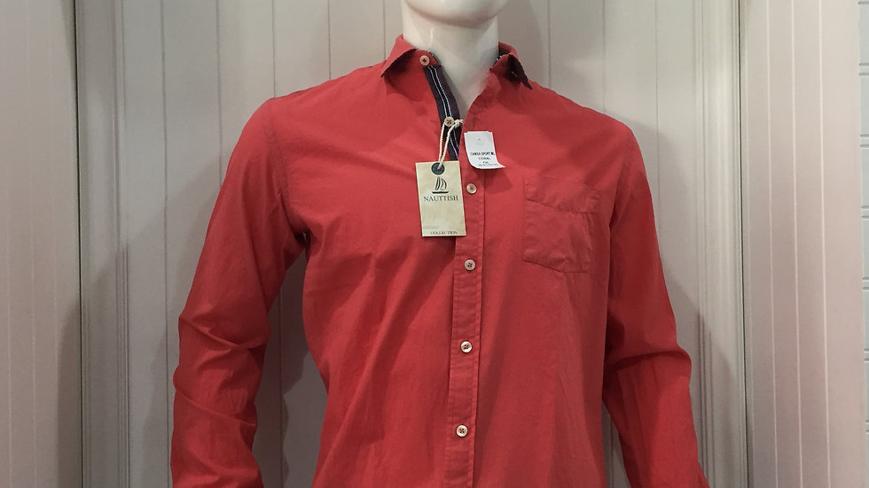 Camisa Nauttish 100% algodón Ligero