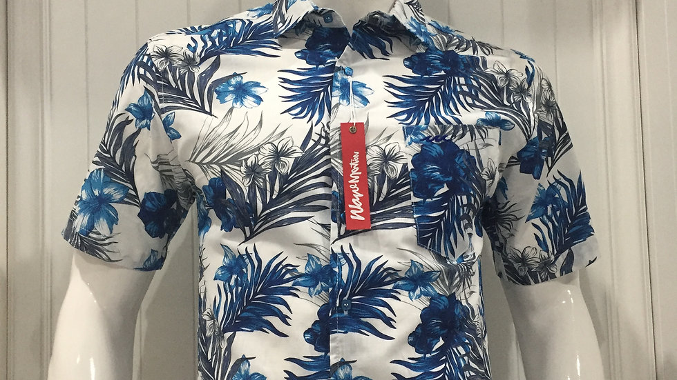 Camisa Wave Motion, 100% Lino