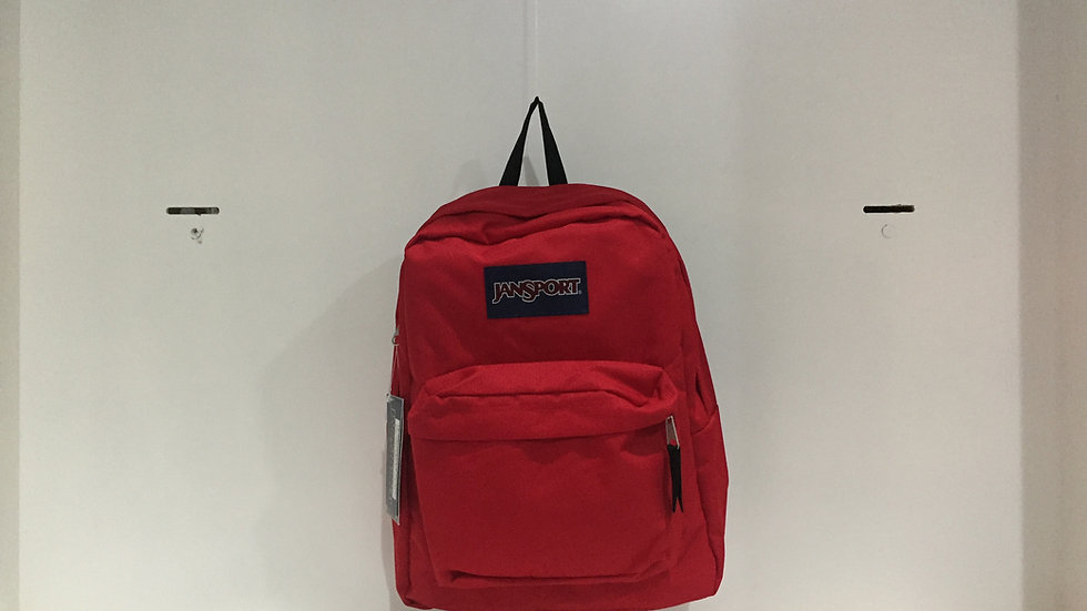 MOCHILA JANSPORT  SUPERBREAK RED TAPE