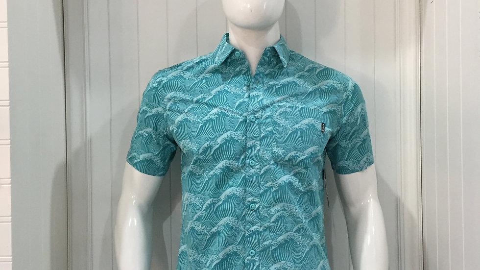 Camisa Hurley Classic Fit 100% algodón