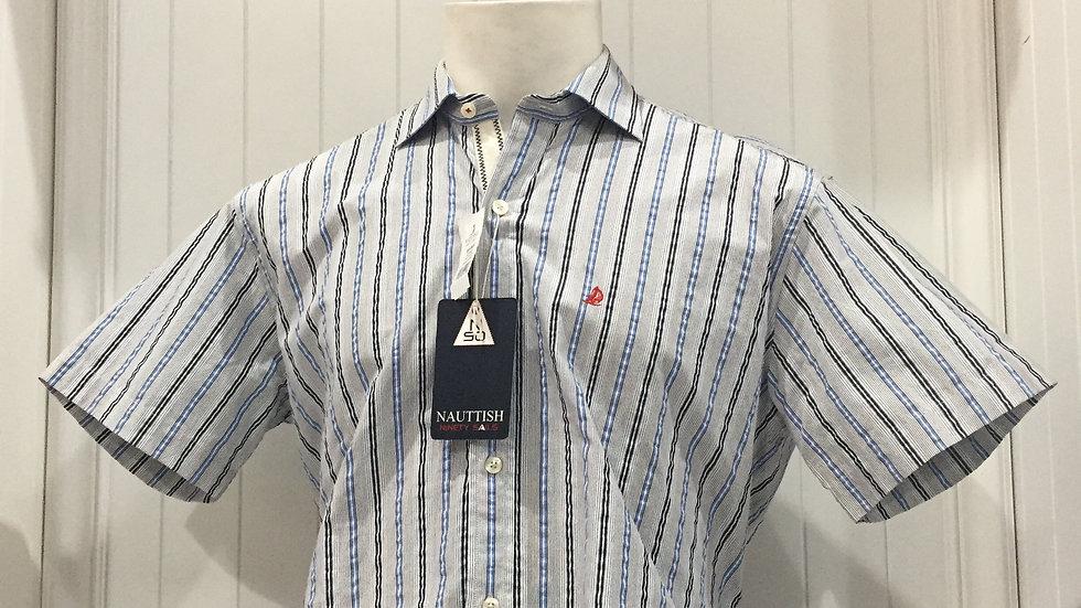 Camisa Nauttish 100% Algodón Talla Grande