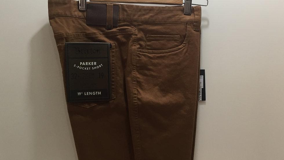 Wallkshort Brixton 5- Pocket Short, Stretch,