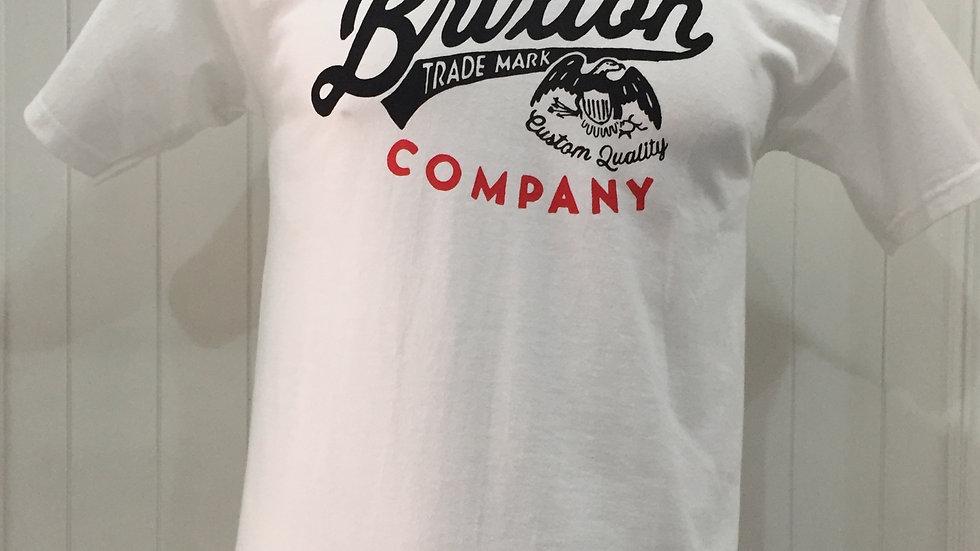 Playera Brixton DENTON, STANDART FIT 100%algodón