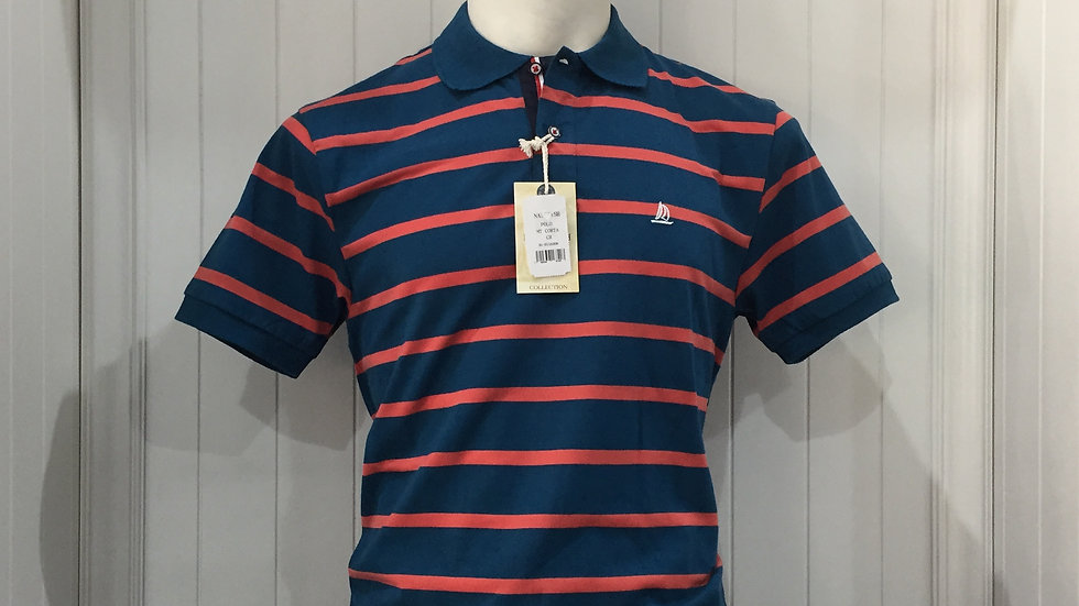 Playera Nauttish Polo, 50% algodón, 50% poliester.