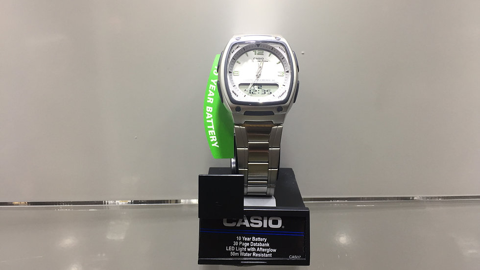 Casio 10 Year Battery 30 Page Databank LED Light