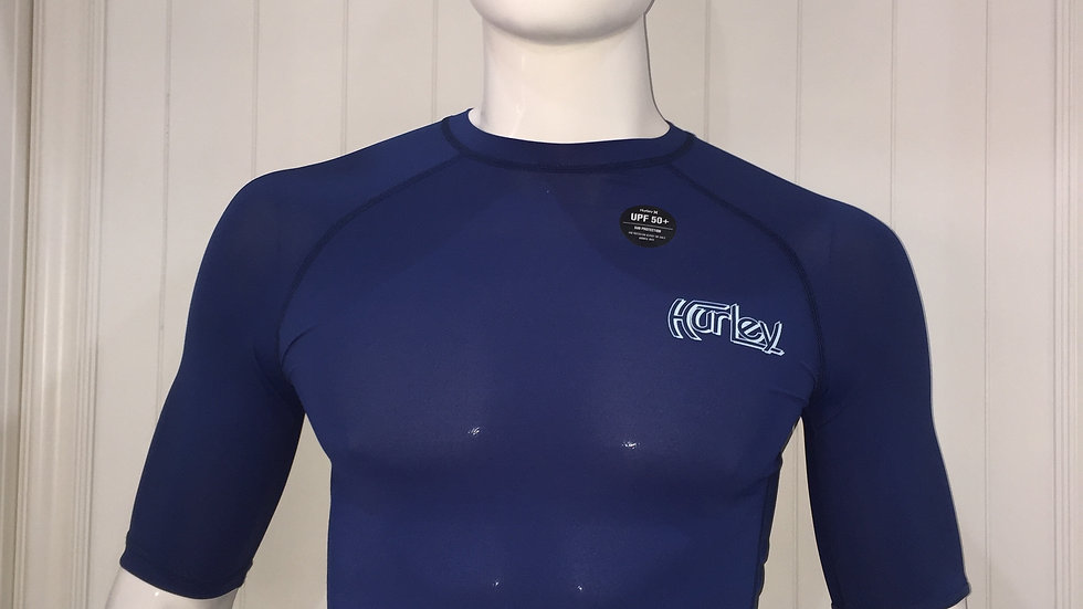Licra Hurley Pro Light Top SSSurf Shirt UPF 50+ Sun Protection