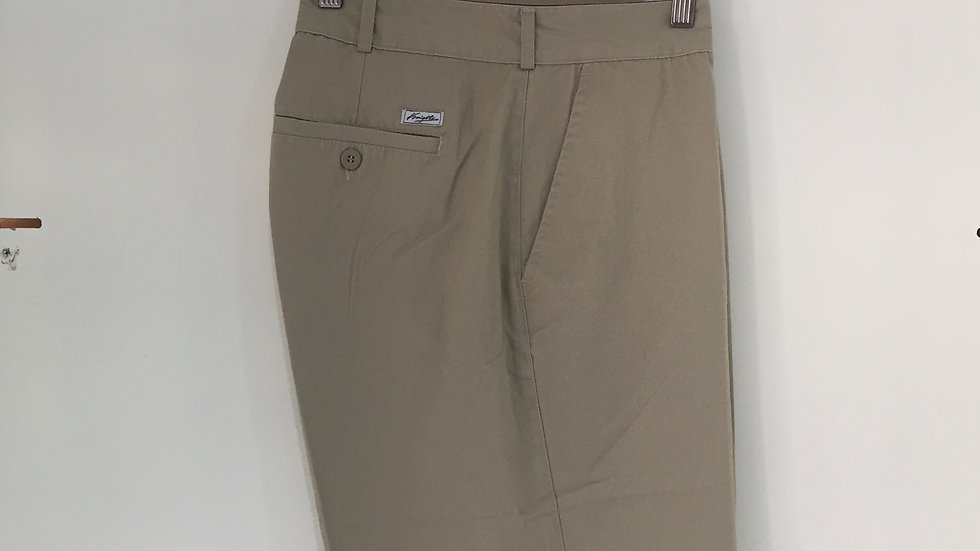 "Knights Wallksort Khaki, Largo 21"", 100% Algodón."
