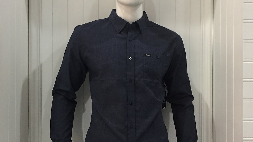 Camisa Brixton, 55% algodón, 45% poliester.