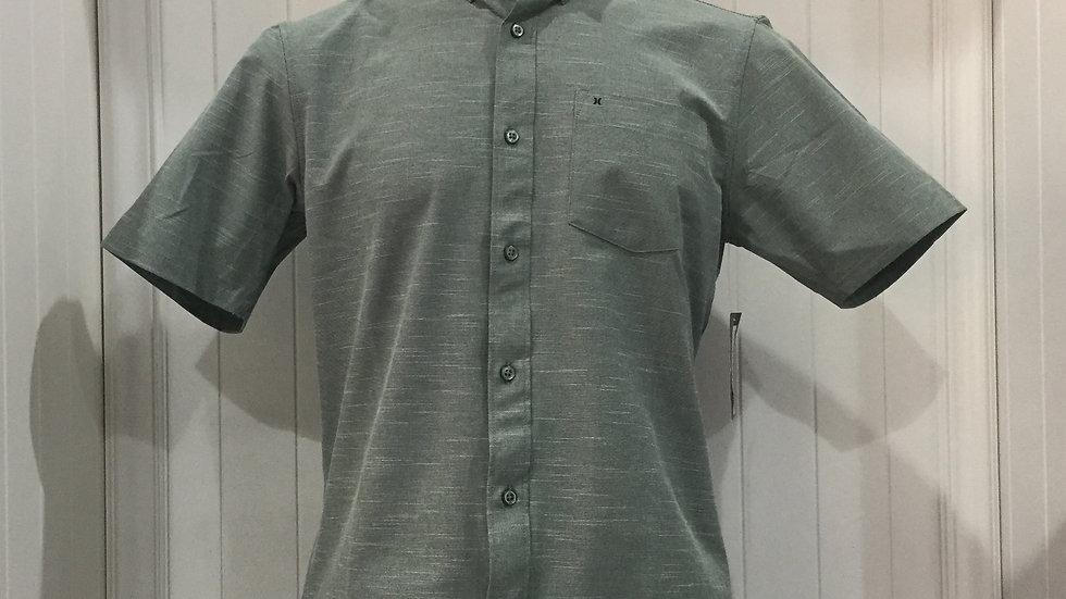 Camisa Hurley Alchemy Top SS, Stretch 61% poliester, 29% algodón, 10% Elastano.