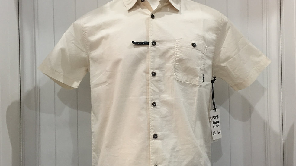 Camisa Billabong All Day Stretch, 100% algodón