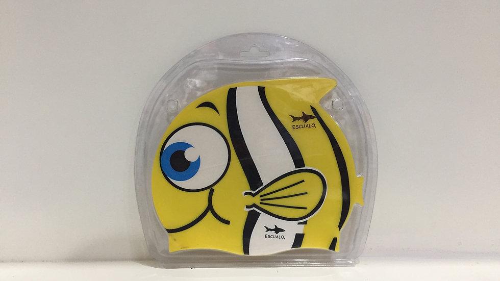 Gorra Escualo de silicón pez amarillo