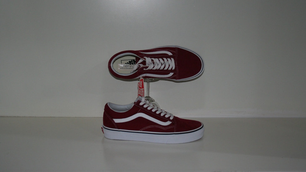 Tenis Vans Uni Old Skool Rumba Red
